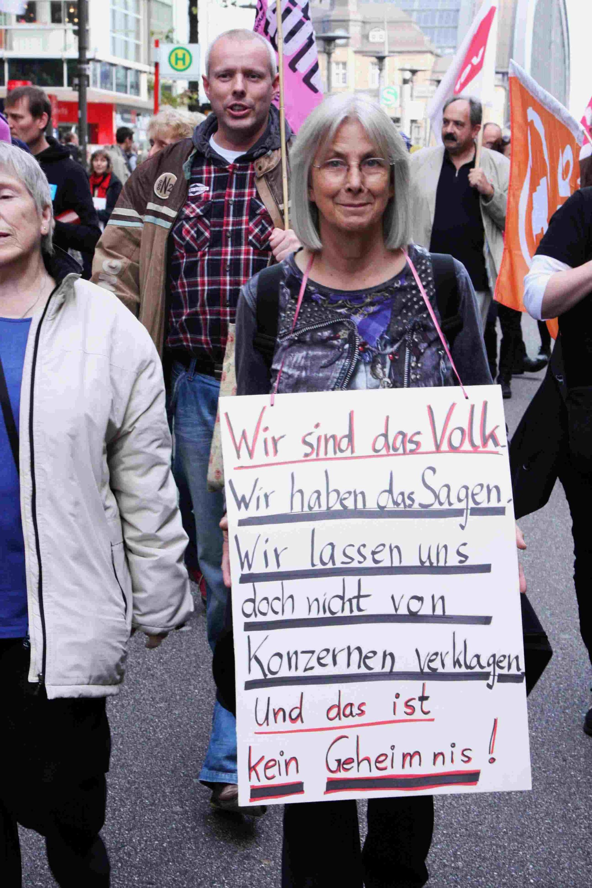 Demo am 11.Oktober in Hamburg