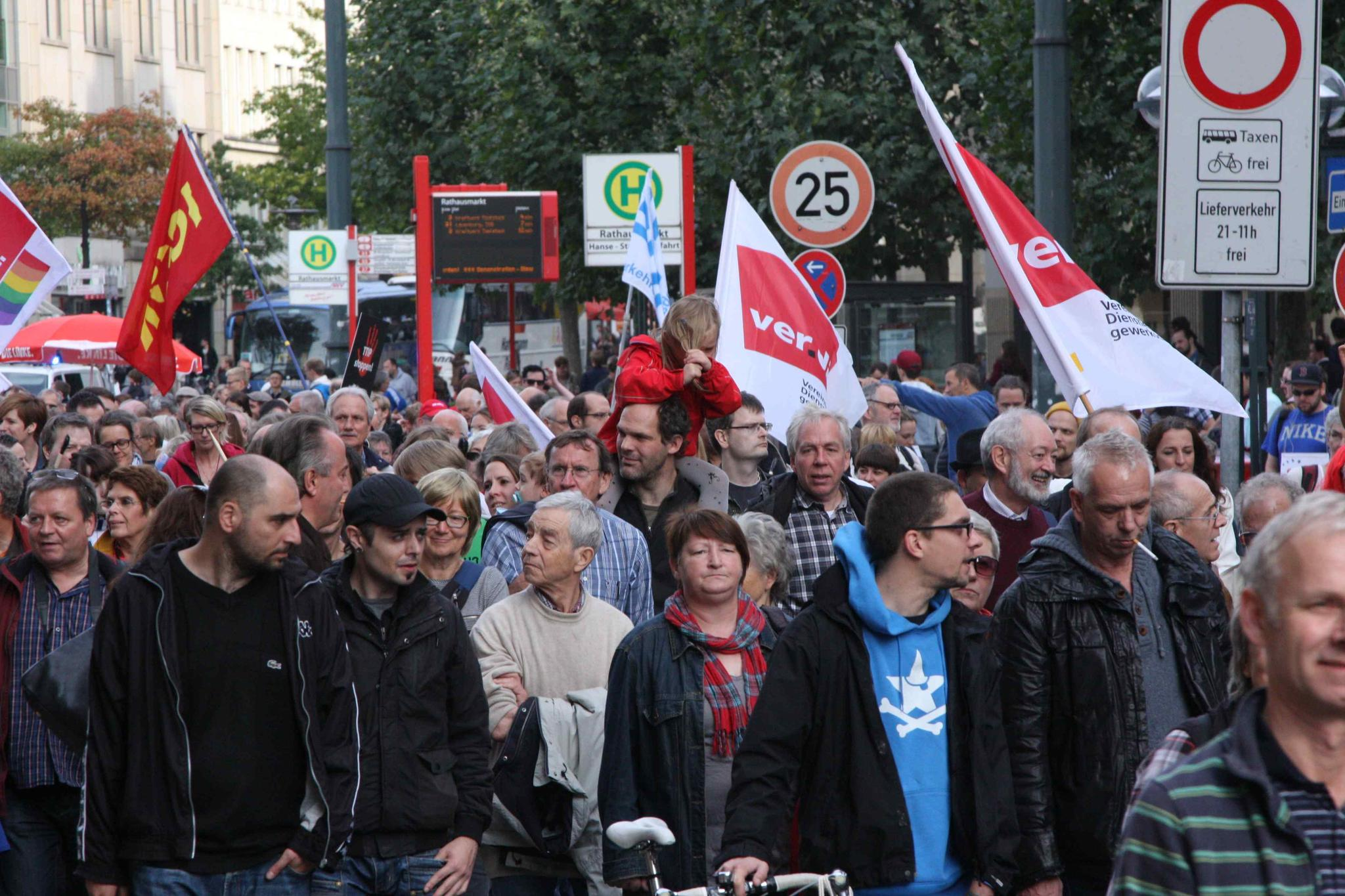 Demo am 11. Oktober in Hamburg