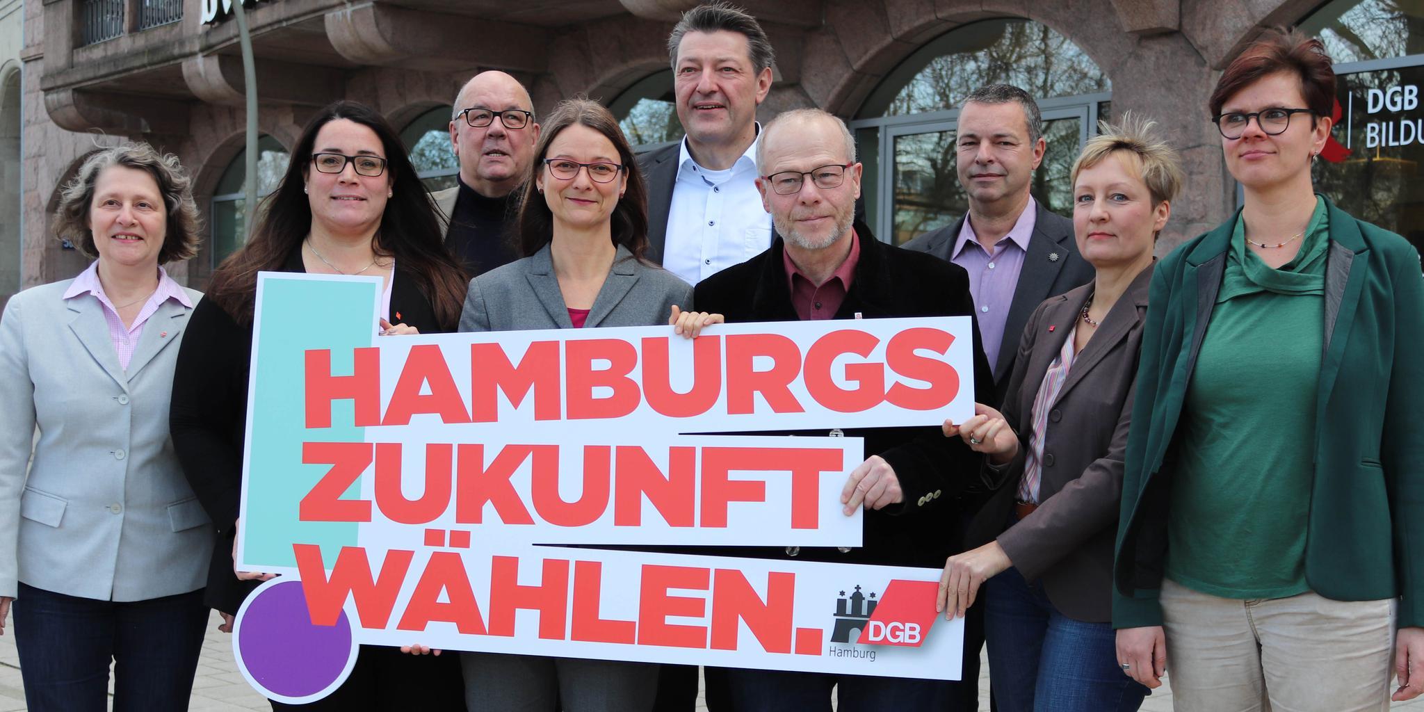 Hamburgs DGB-Gewerkschaften