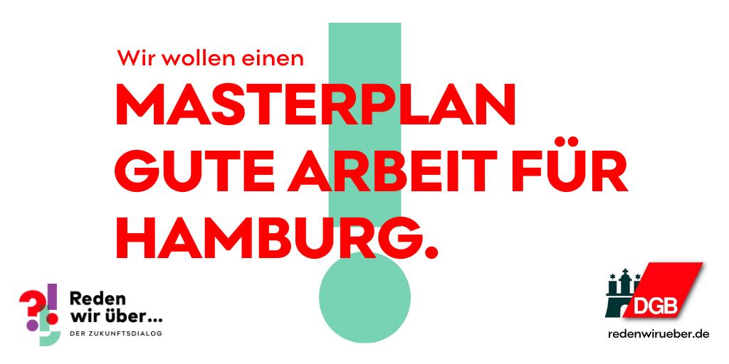 Masterplan Gute Arbeit für Hamburg