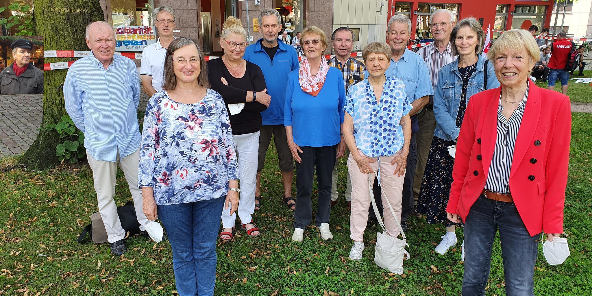 Die Steuerungsgruppe der DGB-Senioren Hamburg
