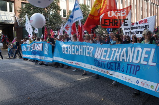 Demonstration am 17.9. in HH