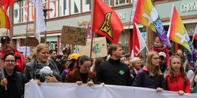 Klima-Demo in Hamburg am 20.9.2019