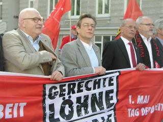 1. Mai Demonstration in Hamburg
