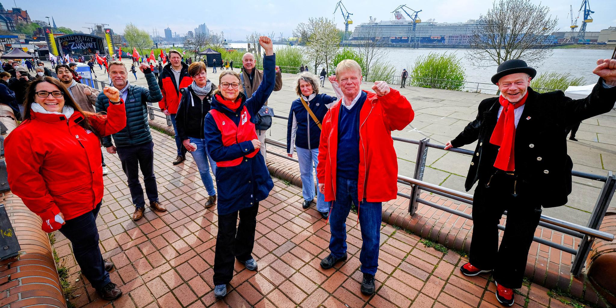 1. Mai 2021 in Hamburg
