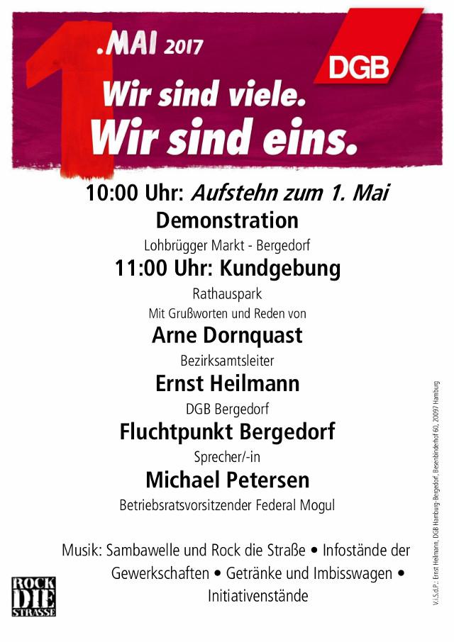 1. Mai 2017 Bergedorf