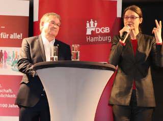 Klaus Wicher und Katja Karger