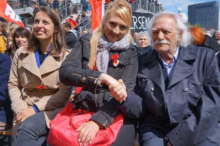 Sophie Binet, Stafanie Holtz, Manolis Glezos