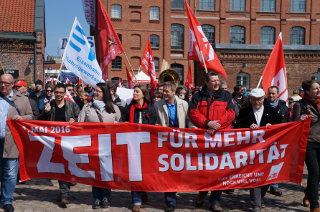 1. Mai 2016: Demonstration des DGB Hamburg