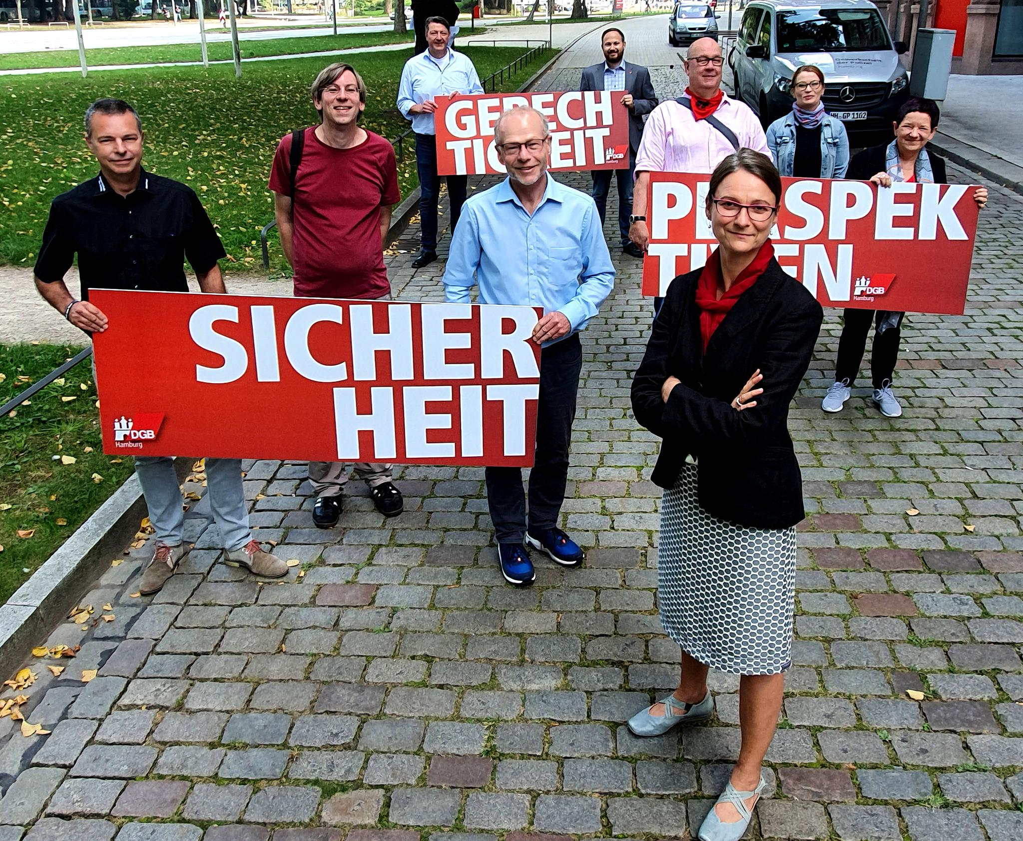 Hamburgs Gewerkschaften