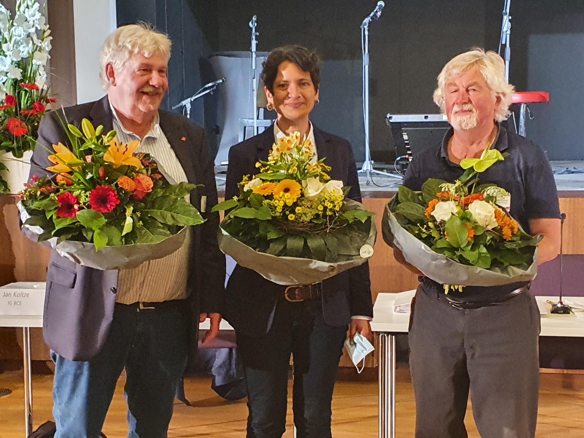 Ernst Heilmann, Tanja Chawla, Wolfgang Brandt