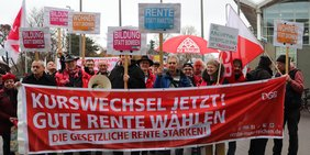 Aktionen beim CDU Parteitag 2018 in Hamburg