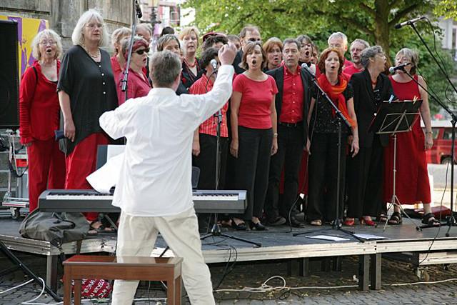 Chor Hamburger Gewerkschafter*innen