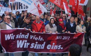 1. Mai 2017 in Hamburg