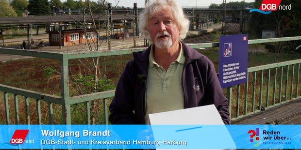 Wolfgang Brandt, DGB Harburg