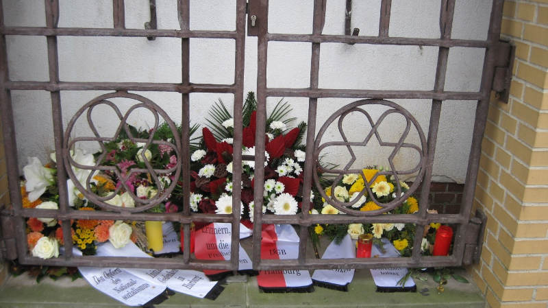 Gedenken in Harburg