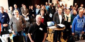Teilnehmer/-innen bei der Fachtagung