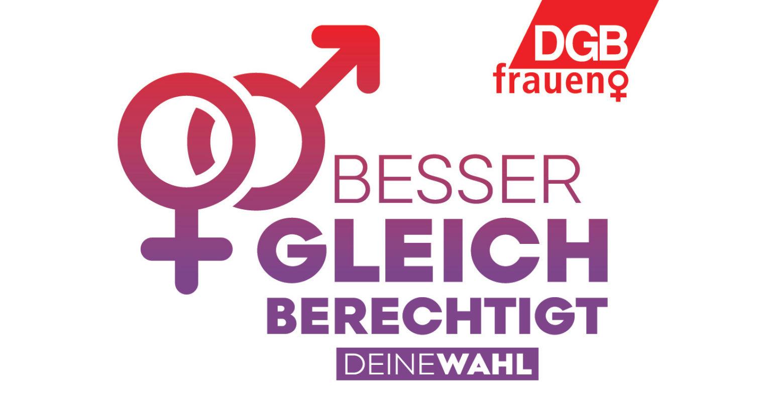 DGB Frauen zur Wahl
