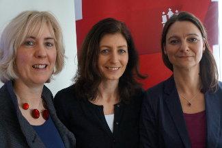 Petra Heese, Lisanne Straka, Katja Karger