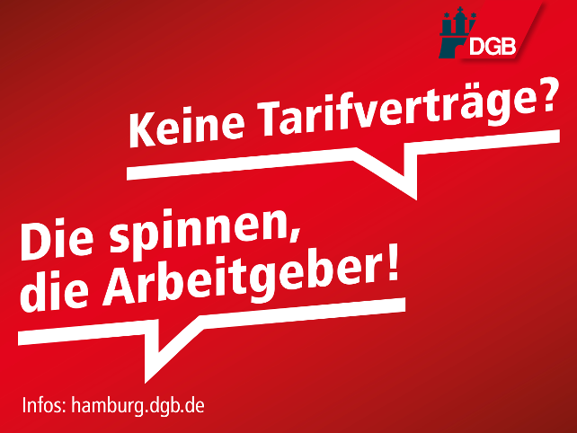 Mehr Tarifverträge für Hamburg!