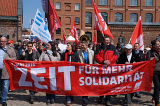 1. Mai 2016 in Hamburg