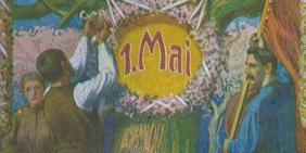 125 Jahre 1. Mai Historische Abbildung