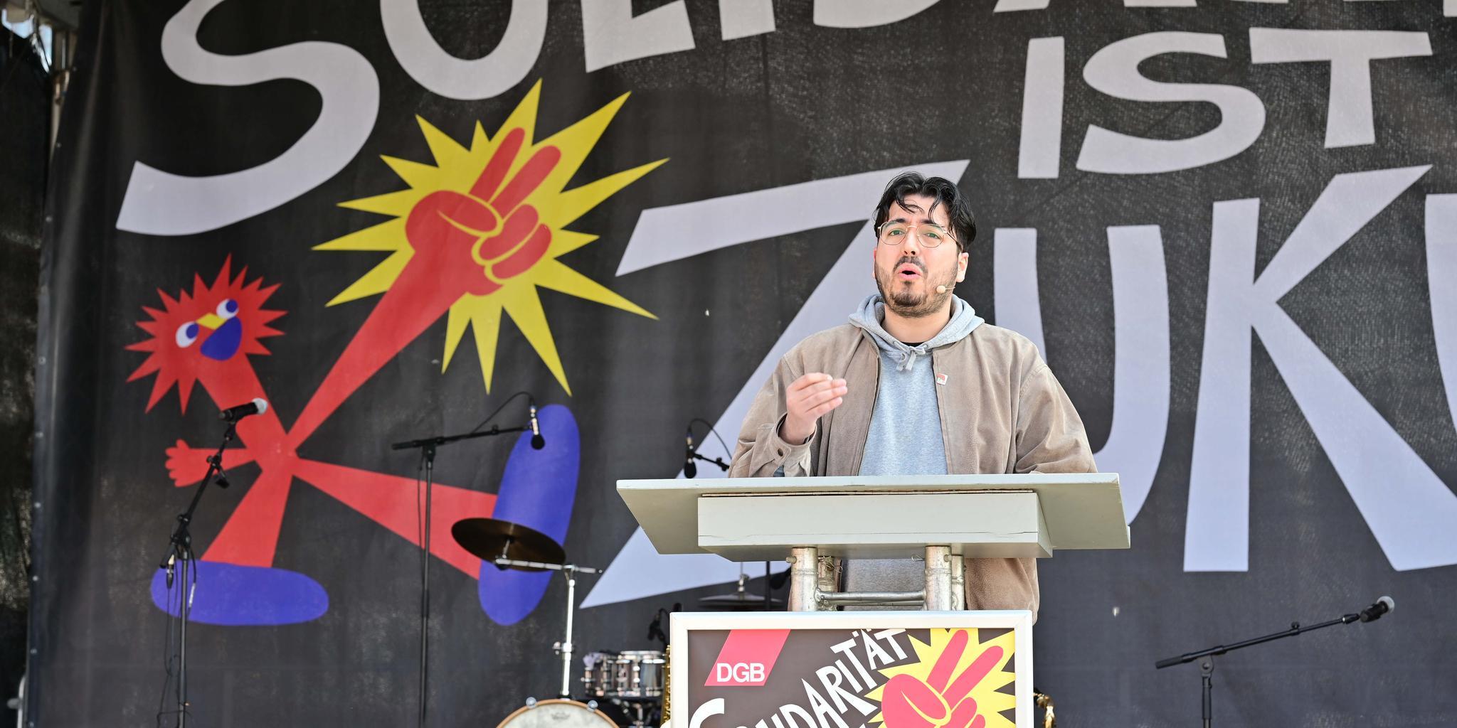 Yavuz Daskin, DGB-Jugend