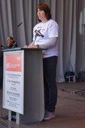 Marion Popken vertritt die DGB-Jugend