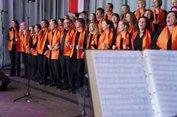 Die Happy-Gospel-Singers brauchen kein Gesangbuch